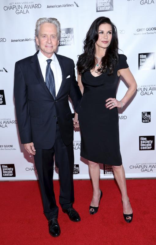 Michael Douglas and Catherine Zeta-Jones - 25 Years