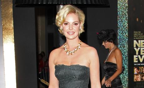 Katherine Heigl at New Year's Even Premiere