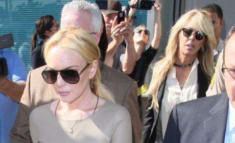 Hyde Sighting: Dina Lohan Makes Lindsay Look Mature and Sober