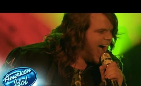 "Caleb Johnson - ""Dazed and Confused"""