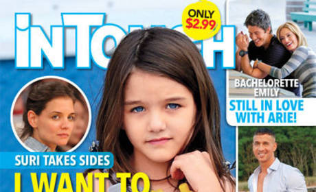 Suri Cruise: I Want to Live With Daddy!