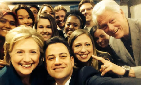 Jimmy Kimmel-Clinton Selfie Goes Viral: Eat Your Heart Out, Ellen!