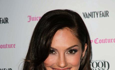 Minka Kelly Smiles