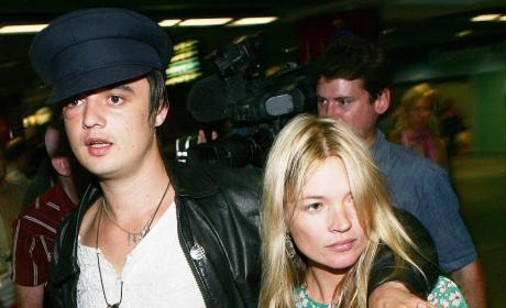 Pete Doherty And Kate Moss Photo