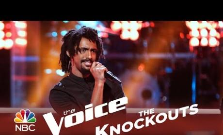 Menlik Zergabachew - Could You Be Loved (The Voice Knockouts)