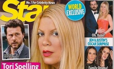 Tori Spelling on Divorce Rumors: They Scared My Son!