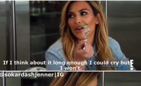Kim Kardashian Cry Makeup Meme