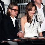 Brad Pitt And Angelina Jolie in Paris