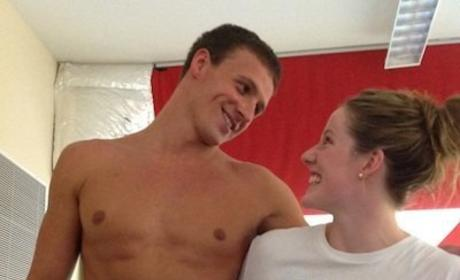 What's your reaction to this Ryan Lochte-Missy Franklin pic?