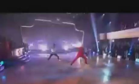 Chris Brown on Dancing With The Stars - Yeah 3X