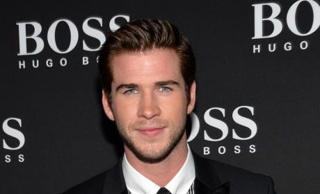 Liam Hemsworth Walks Red Carpet