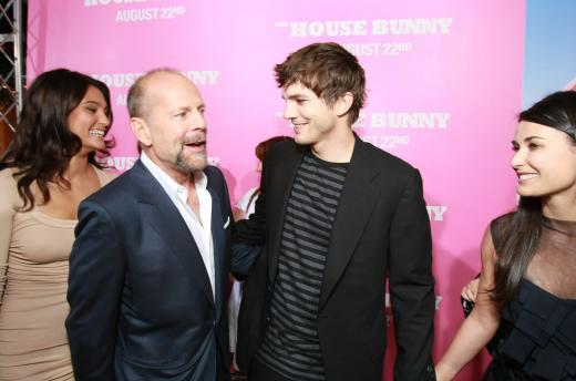Bruce Willis and Ashton Kutcher