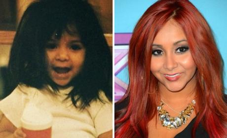 Snooki as a Kid