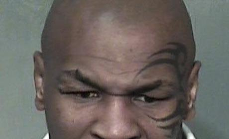 Mike Tyson Mug Shot (Again)
