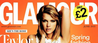 Taylor Swift Glamour UK Pic