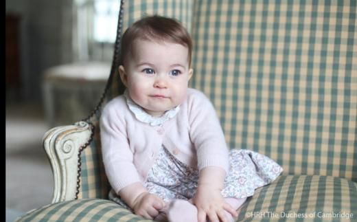 Princess Charlotte at 6 1/2 Months Old