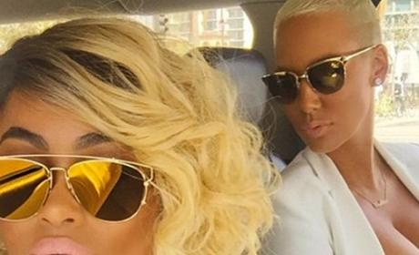 Amber Rose and Blac Chyna Photo
