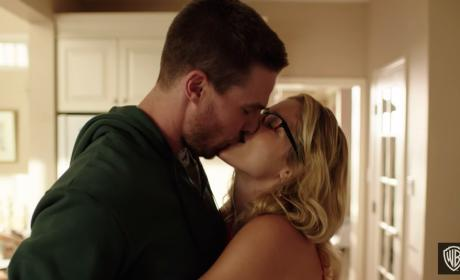 Arrow Season 4 Trailer: Happily Ever After?
