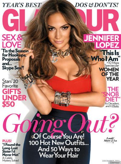 Jennifer Lopez Glamour Cover