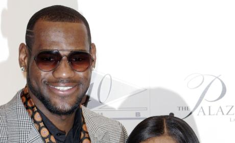 LeBron James and Savannah Brinson: Engaged!