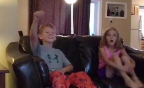 Kids React to Disney Surprise: YES!