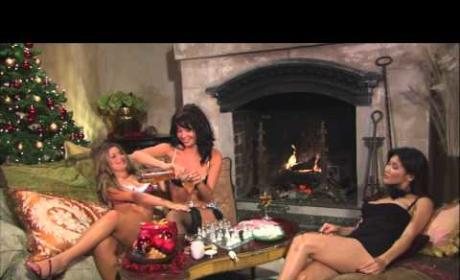 Elise Mosca in Yule Log Hotties