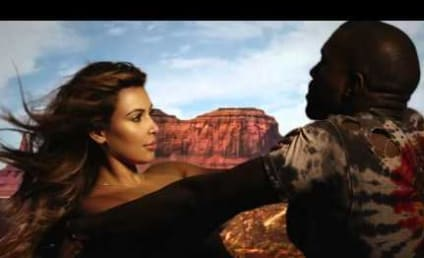 "Kim Kardashian Releases Uncensored ""Bound 2"" Music Video: Watch Now!"