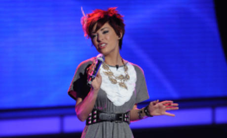 American Idol Frowns on Lacey Brown