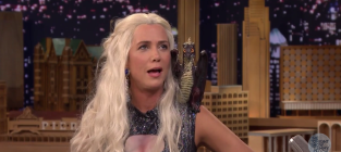 Kristen Wiig Appears on The Tonight Show as Khaleesi, Doesn't Really Know Anything About Khaleesi