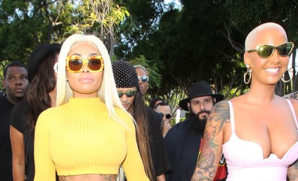 Blac Chyna: KICKED OFF Amber Rose's Talk Show Because of the Kardashians??