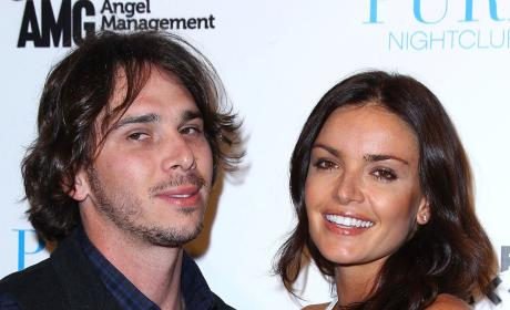Ben Flajnik and Courtney Robertson Pose