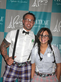 Roger Mathews and JWOWW Halloween Costumes