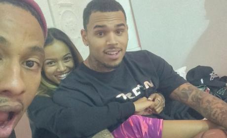Karrueche Tran: Baby Bump Photo