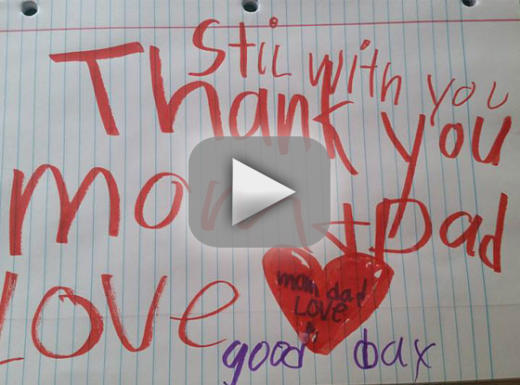 Mother finds goodbye note from 6 year old son after he dies from