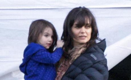 Suri Cruise: No Plans to Take Baby Gap Modeling Deal