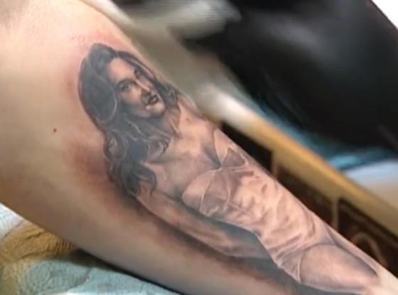 Caitlyn Jenner Tattoo