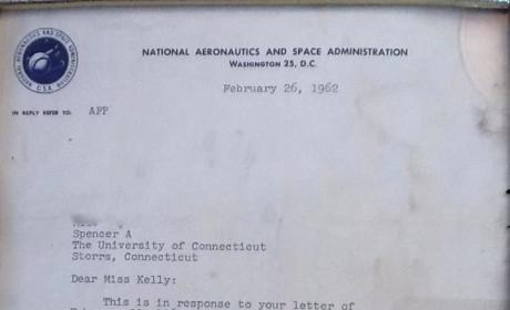 NASA Rejection Letter From 1962: No Girls Allowed!