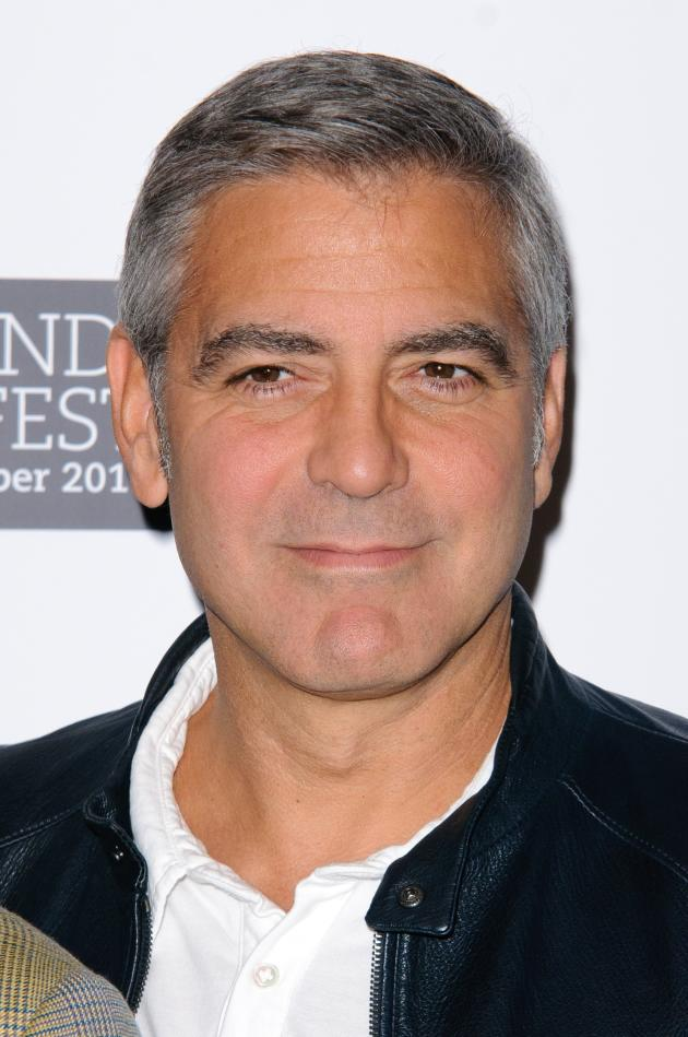 A Clooney Close Up
