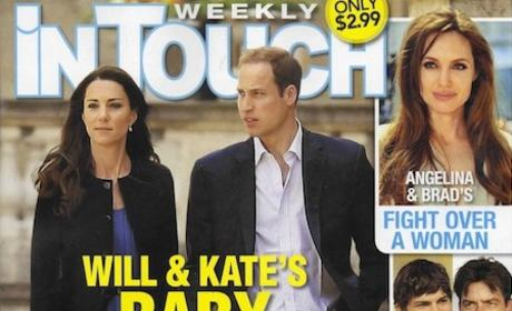 Tabloid Proclaims: Kate Middleton Can't Get Pregnant OR Adopt!