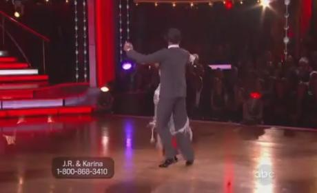 J.R. Martinez on Dancing With the Stars (Week 6)