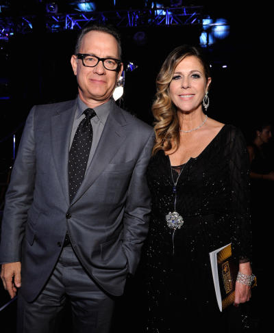 Tom Hanks Rita Wilson pic