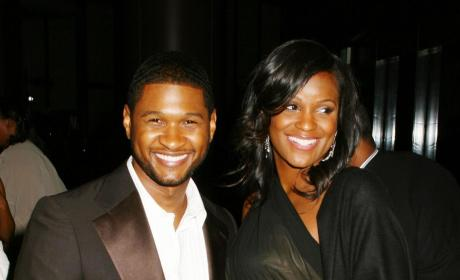 Tameka Foster and Usher: Expecting!!!