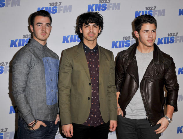 The Jonas Brothers on the Red Carpet