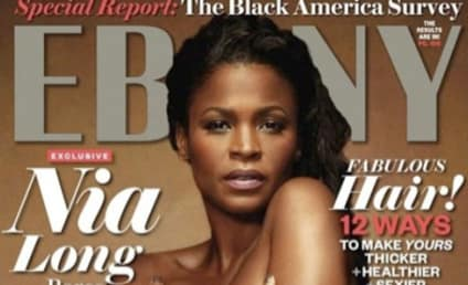 Nia Long: Nude and Pregnant for Ebony