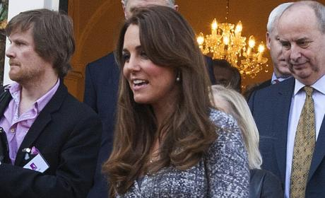 Kate Middleton at Hope House