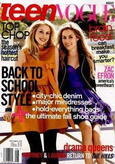 Lauren Conrad, Whitney Port in Teen Vogue