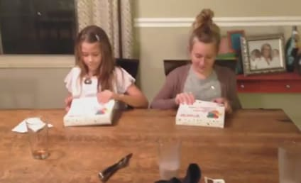 Mother Announces Third Pregnancy to Daughters, Receives Best Reaction Ever
