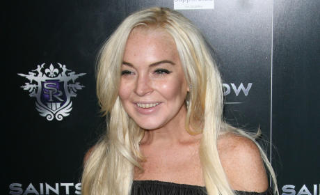 Lindsay Lohan: Racing to NYC to Finish Community Service!