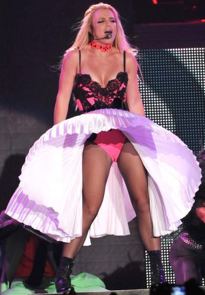 Britney Spears Camel Toe