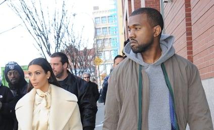 Kim and Kanye to Recreate Royal Balcony Kiss on Wedding Day?